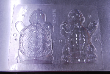 Happy 3D Turtle Animal Chocolate Candy Mold