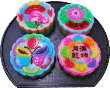 4pcs Regular Pandan Flavor Jelly Mooncake