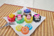 6pcs Mini Cartoon Jelly Mooncakes