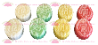8 Pcs Mini Jelly Mooncake